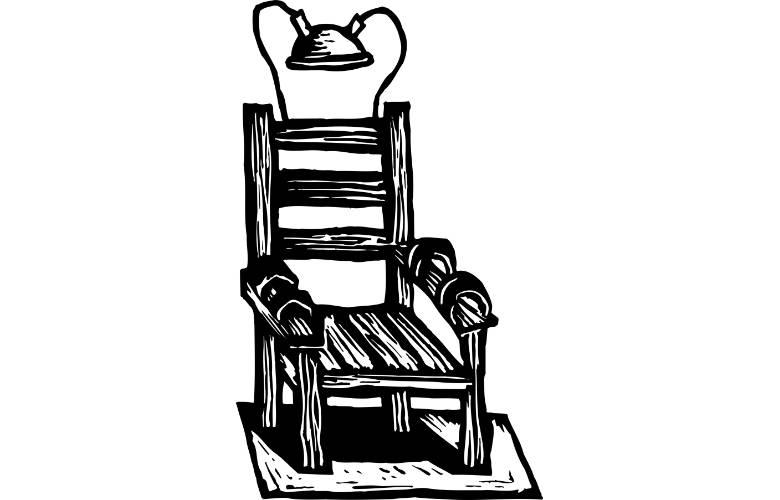 Σκίτσο Ηλεκτρική Καρέκλα