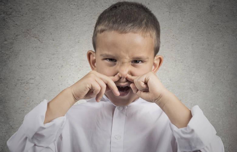 Κακοσμία στόματος παιδιού