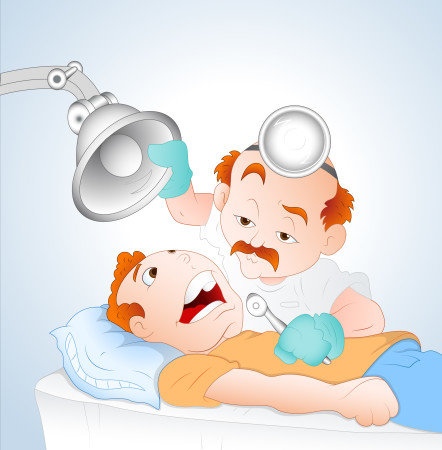 Οδοντίατρος με ασθενή