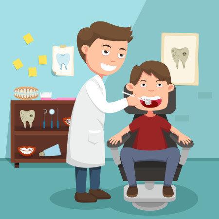 Ο ασθενής, ο οδοντίατρος και ένας τόνος χιόνι!