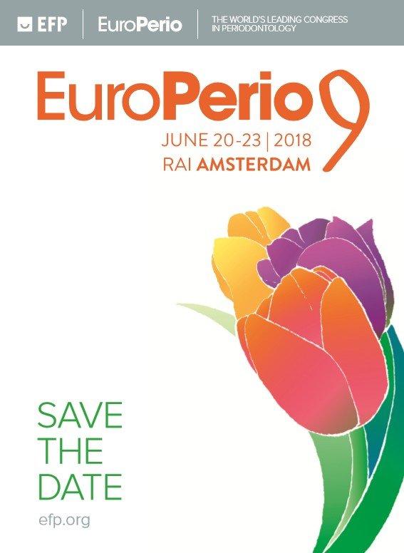 Το κορυφαίο Συνέδριο EuroPerio 9 στο Άμστερνταμ!