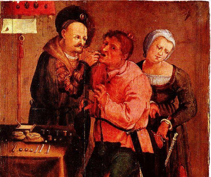 Ήταν στ'αλήθεια η στοματική υγιεινή καλή το Μεσαίωνα;
